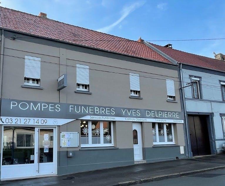 Photographies des PPompes Funèbres Yves Delpierre à Auchel