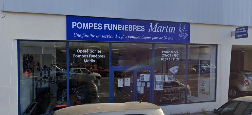 Photographie Pompes Funèbres Martin Libourne