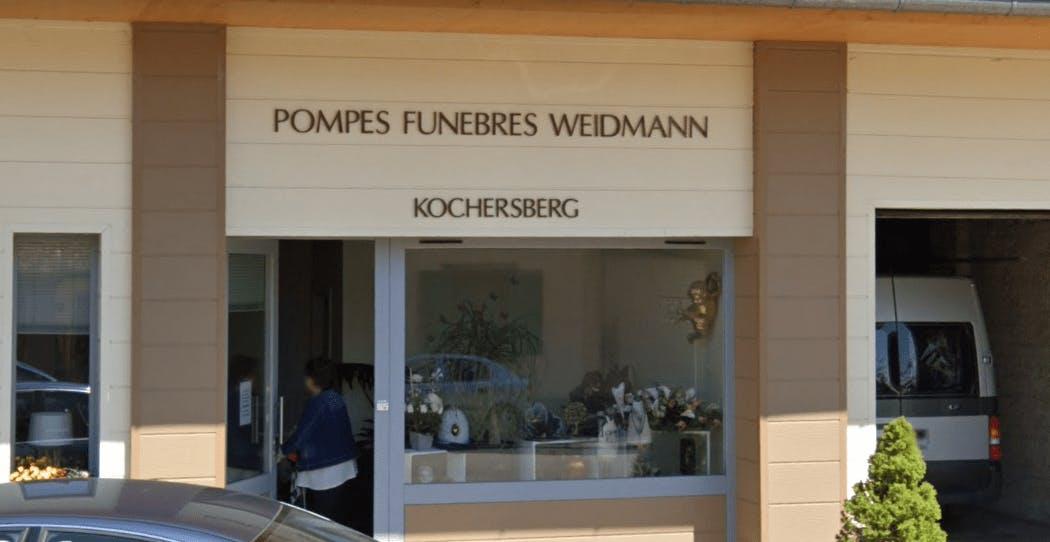 Photographie de la Pompes Funèbres WEIDMANN de la ville de Schnersheim