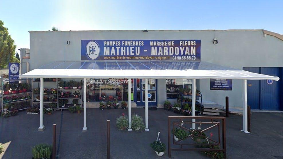 Photographie des Pompes Funèbres et Marbrerie Mathieu Mardoyan à Avignon