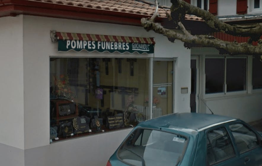Photographie Pompes Funèbres Guichandut de Saint-Palais