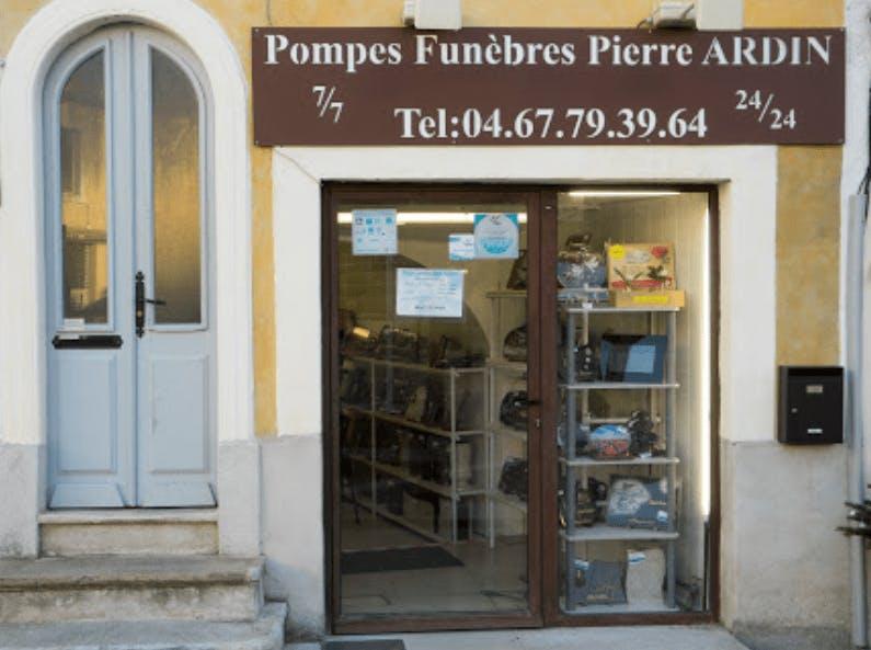 Photographie de la Pompes Funèbres P.Ardin à Castelnau-le-Lez