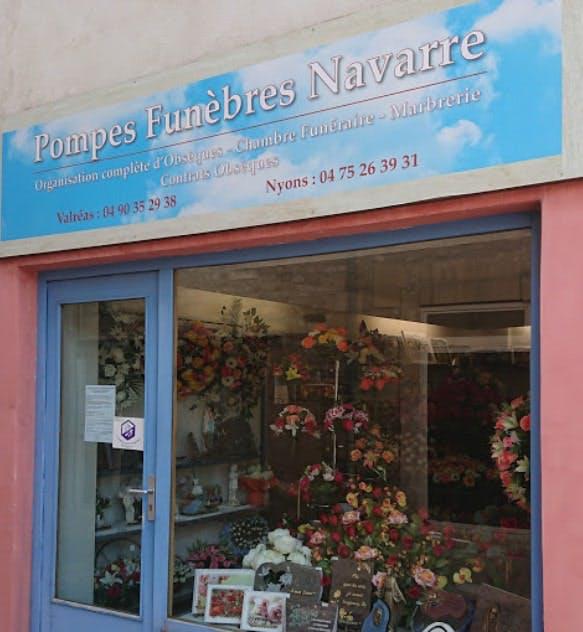 Photographies des Pompes Funèbres Valréas Navarre à Valréas
