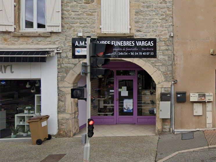 Photographies des Pompes Funèbres Vargas à Heyrieux