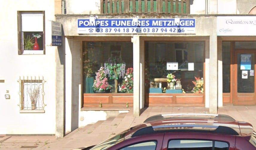 Photographies des Pompes Funèbres Metzinger à Faulquemont