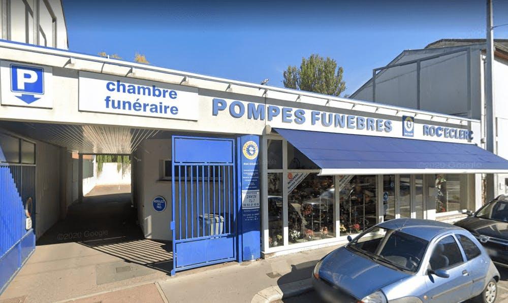Photographie Pompes Funèbres Roc Eclerc de Saint-Max