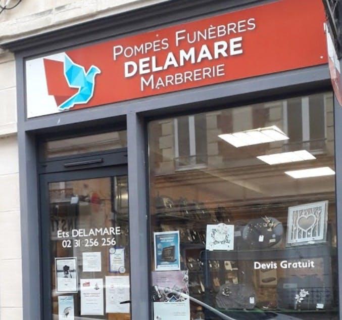 Photographies des Pompes Funèbres Delamare à Douvres-la-Délivrande
