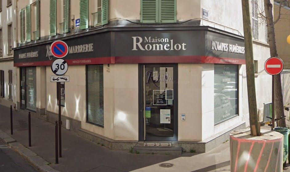Photographies des Pompes Funèbres Marbrerie Rebillon à Neuilly-sur-Seine