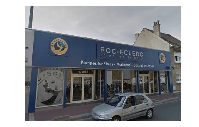 Photographie de la Pompes Funèbres ROC ECLERC à Calais