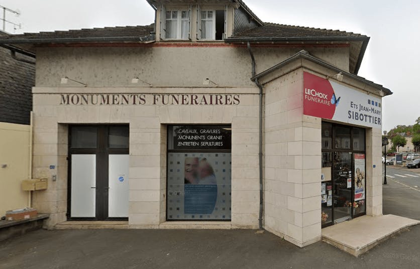 Photographie Pompes Funèbres Sibottier de Saint Aignan