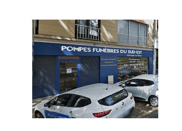 Photographie de la Pompes Funèbres du Sud-Est-Ets La Rosa à Aix-en-Provence