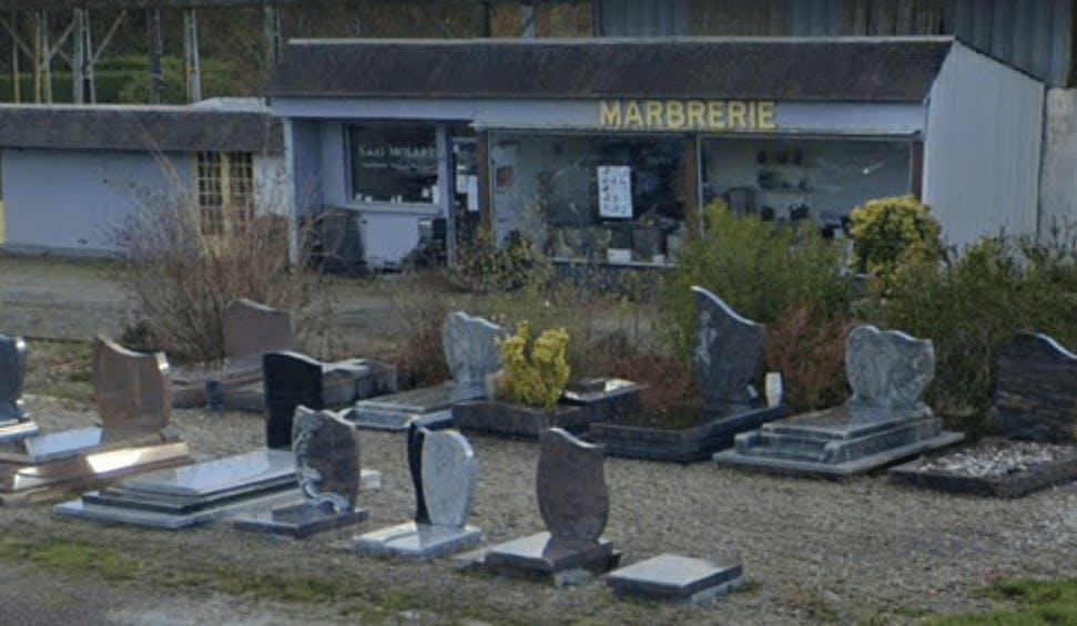 Photographie de la Pompes Funèbres et Marbrerie Granitière Mollet à Saint-Nicolas-du-Pélem