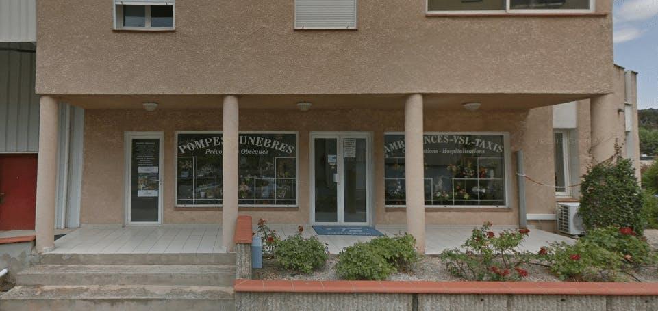 Photographie de la Pompes Funèbres Pouzens à Amélie-les-Bains-Palalda