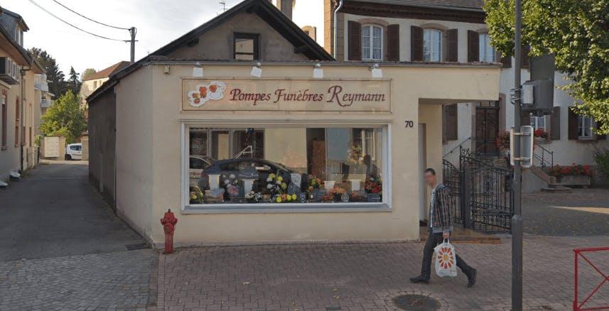 Photographie de la Pompes Funèbres Reymann à Habsheim