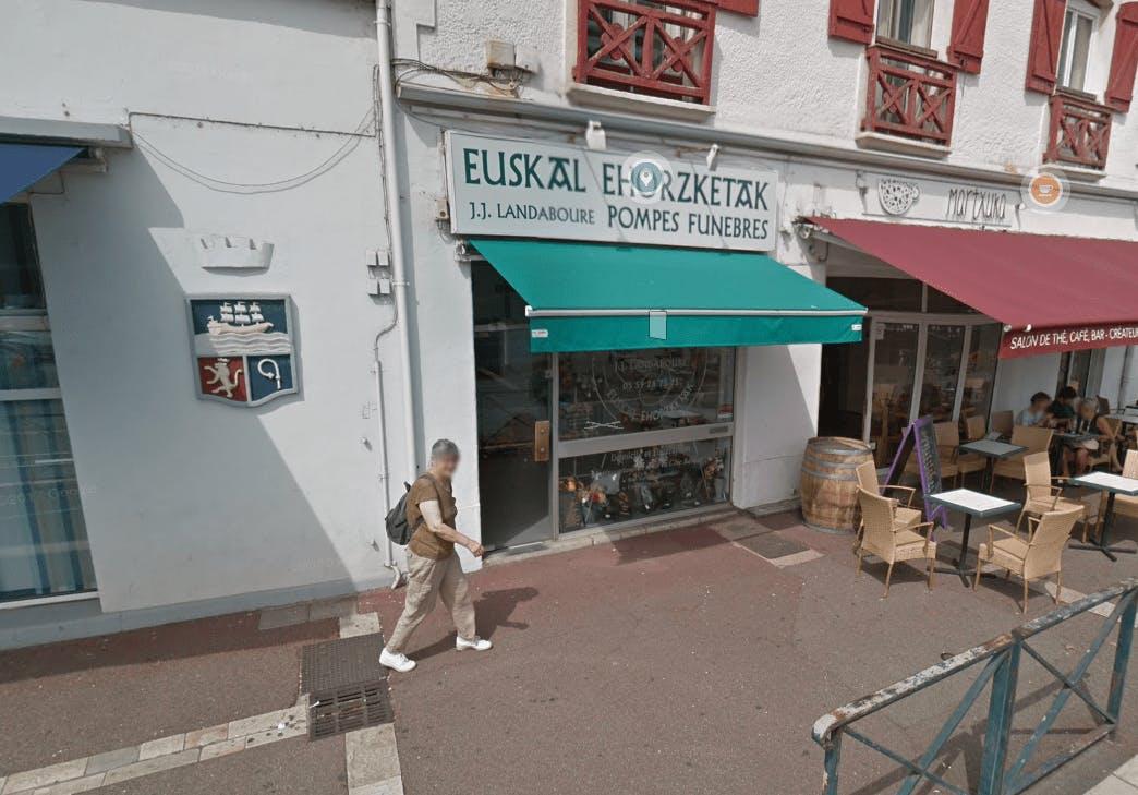 Photographie Pompes Funèbres Euskal Ehorzketak à Saint-Jean-de-Luz