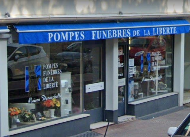 Photographie de la Pompes Funèbres de la Liberté à Cannes