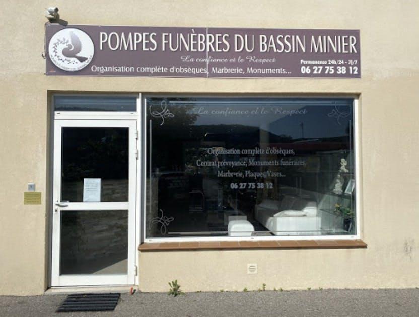 Photographies des Pompes Funèbres du Bassin Minier à la Bouilladisse