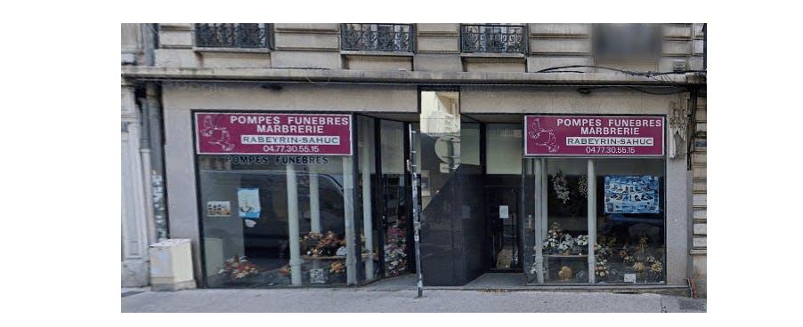 Photographie de la Pompes Funèbres Rabeyrin Sahuc  à Saint-Etienne