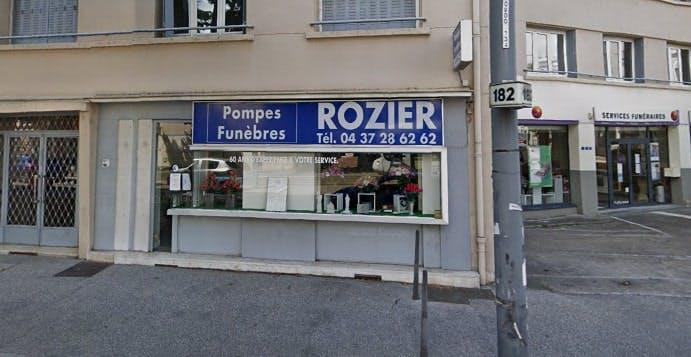 Photographie de la Pompes Funèbres Rozier
