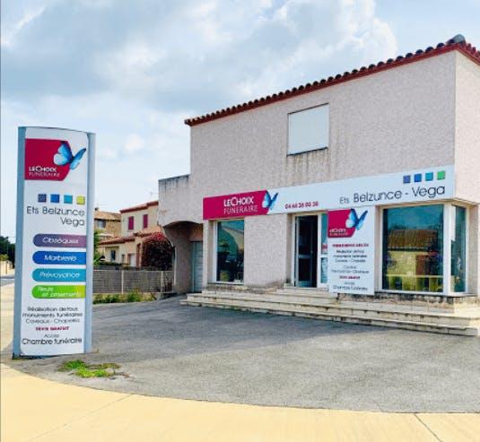 Photographie de la Pompes Funèbres Fenoy Belzunce à Saint-Laurent-de-la-Salanque