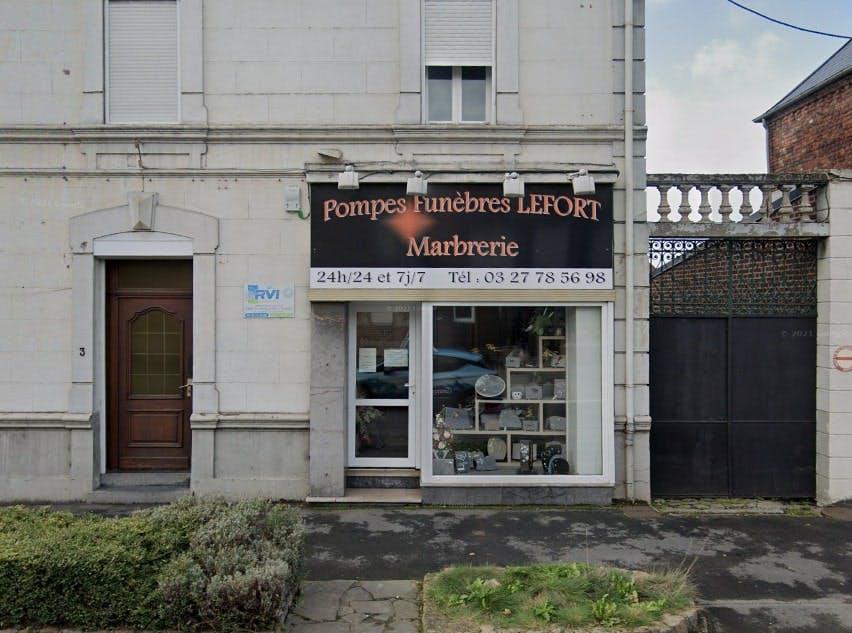 Photographies des Pompes Funèbres Lefort à Iwuy