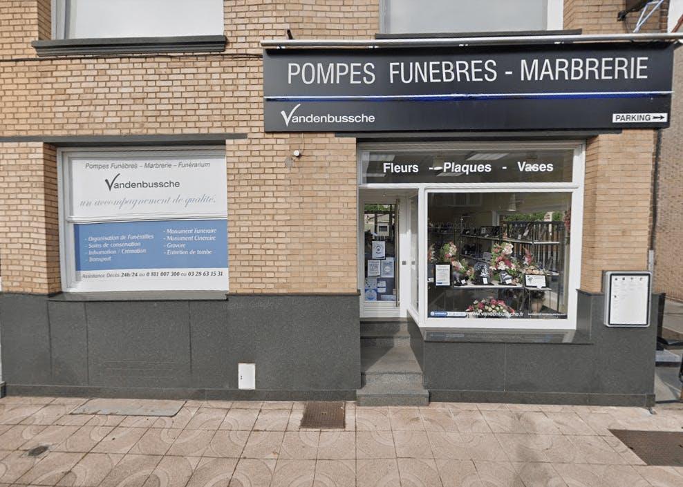 Photographie de la Pompes funèbres et Marbrerie Vandenbussche de Dunkerque