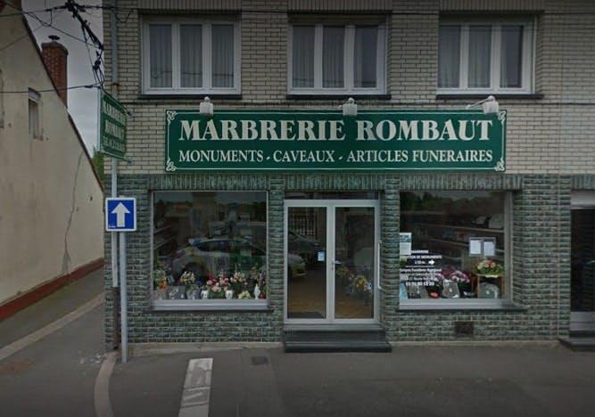 Photographies de la Marbrerie Rombaut à Nœux-les-Mines