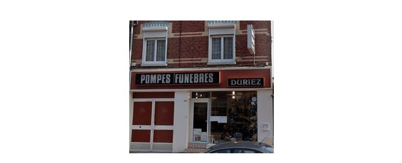 Photographie de la Pompes Funèbres DURIEZ à Lille