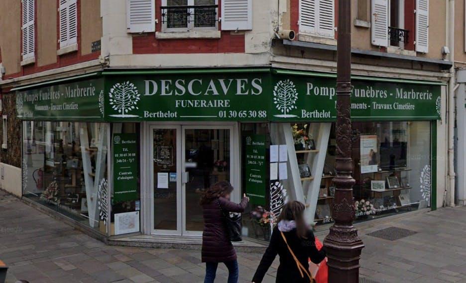 Photographies des Pompes Funèbres Marbrerie Descaves à Poissy