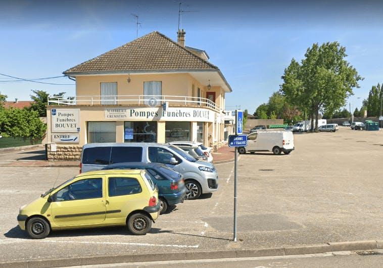 Photographie des Pompes Funèbres BOUVET de la ville de Bourg-en-Bresse
