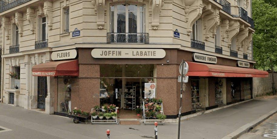 Photographie de la Pompes Funèbres Joffin Labatie à Paris