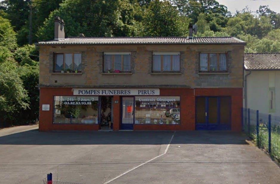 Photographies des Pompes Funèbres et Marbrerie Pirus à Kédange-sur-Canner