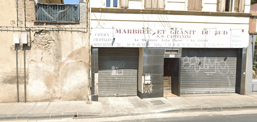 Photographie de la Marbrerie du Sud à Marseille