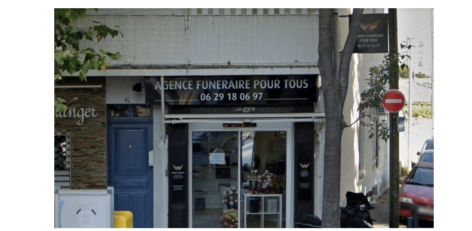 Photographie de l'Agence Funéraire Pour Tous à Marseille