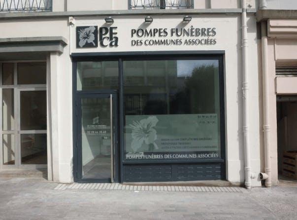 Photographie Pompes Funèbres des Communes Associées Landerneau