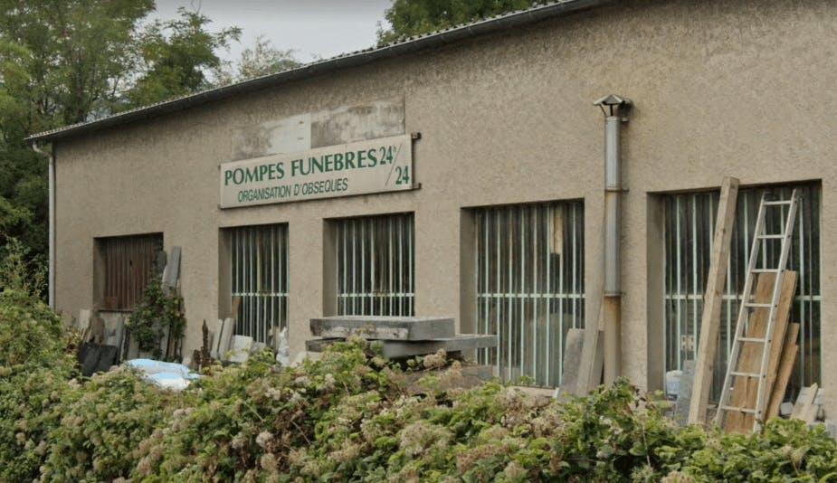 Photographie de la Pompes Funèbres et Marbrerie Marchand à Moirans