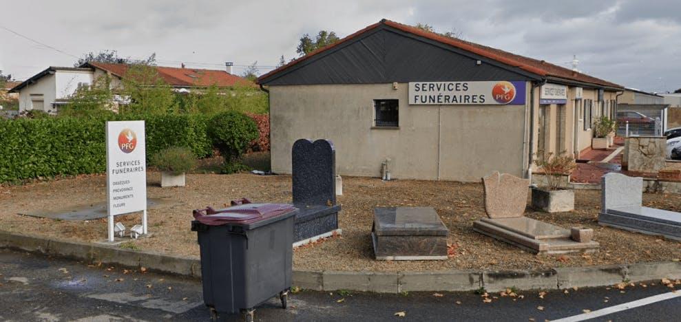Photographie de la Pompes Funèbres Générales à Portet-sur-Garonne