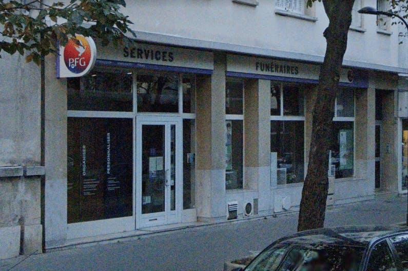 Photographie de la Pompes Funèbres Générales à Paris