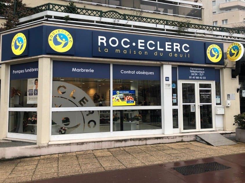 Photographies des Pompes Funèbres Roc'Eclerc à Courbevoie