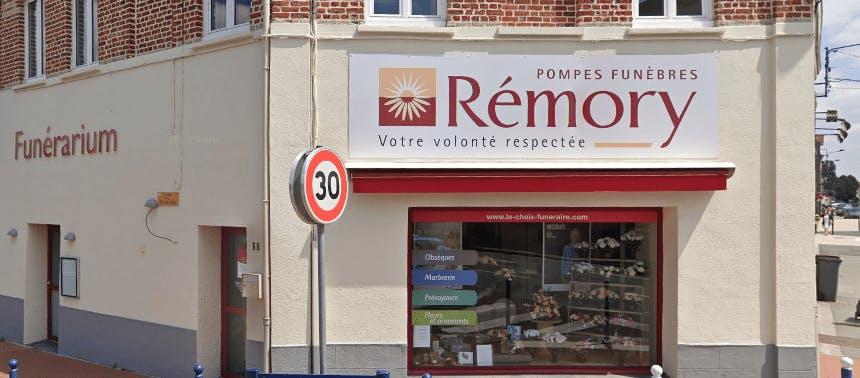 Photographie de la Pompes Funèbres REMORY - Le Choix Funéraire de la ville de Houplines