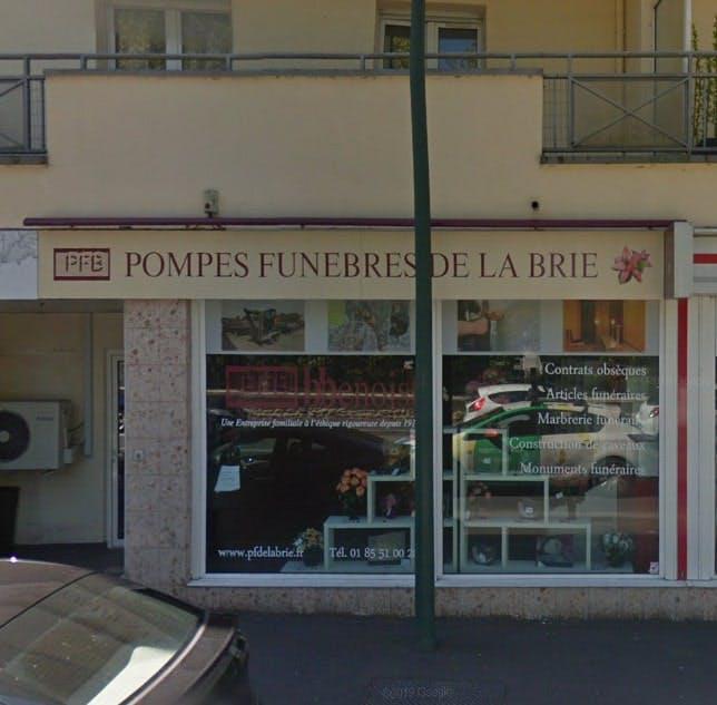 Photographies des Pompes Funèbres de la Brie B.Benoist à Ozoir-la-Ferrière