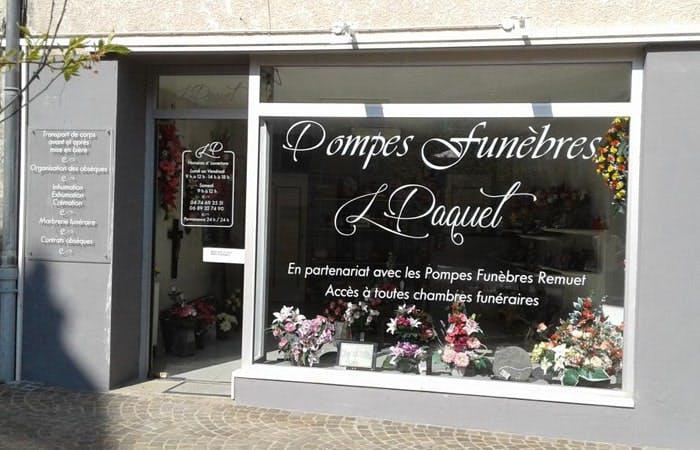 Photographie de la Pompes Funebres et Marbrerie Ludovic Paquet à Beaujeu