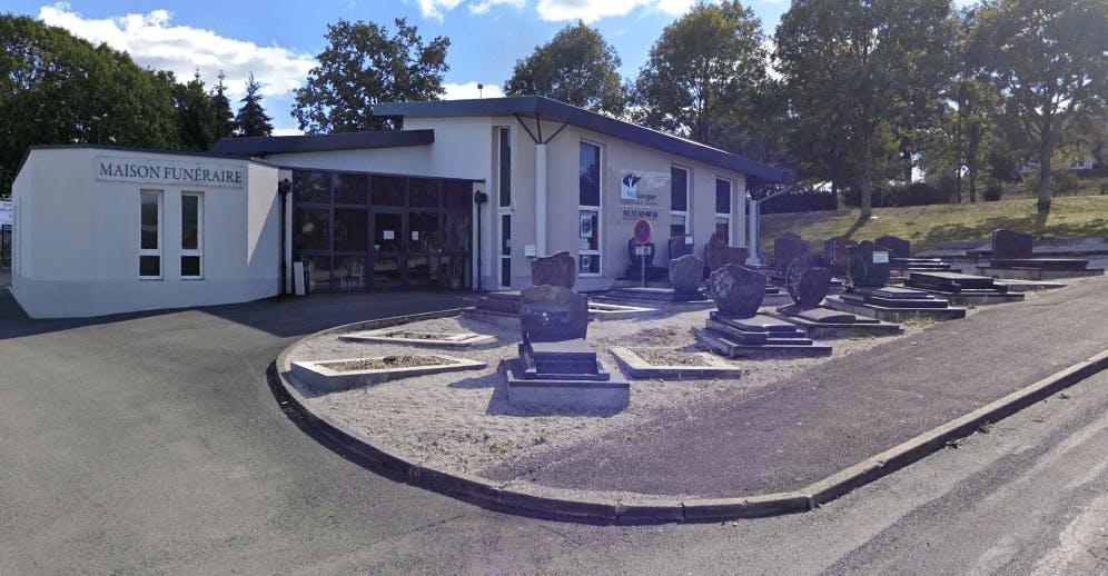 Photographie de la Pompes Funèbres et Marbrerie Mélanger de la ville de La Ferté-Macé