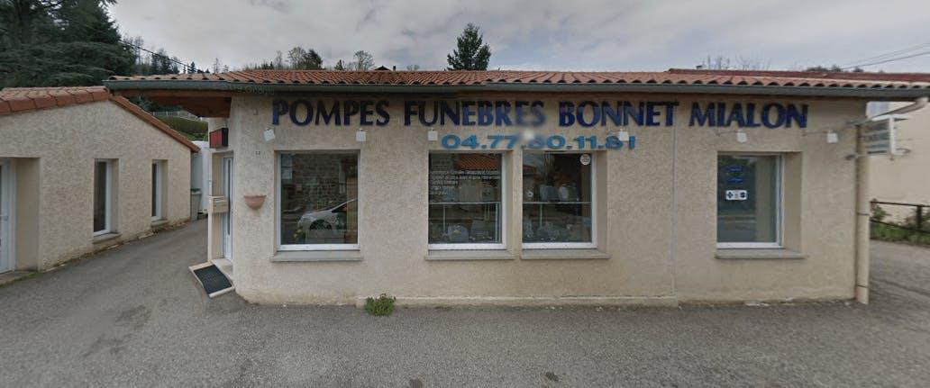 Photographie de la Pompes Funèbres Bonnet Mialon à Saint-Bonnet-le-Château