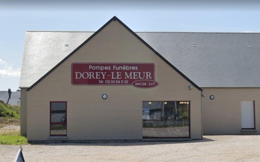 Photographie de la Pompes Funèbres Dorey-Le Meur à Quettehou