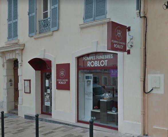 Photographie de la Pompes Funèbres Roblot à Hyères