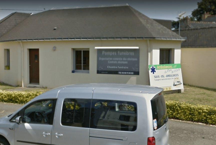 Photographie de la Pompes Funèbres et Ambulances du Pays de Vilaine à Redon