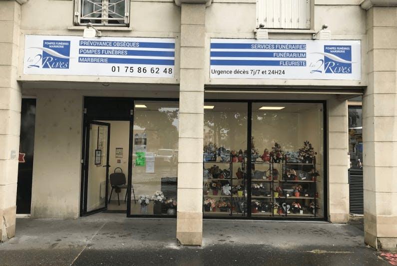 Photographie de la Pompes Funèbres et Marbrerie Les 2 Rives à Carrières-sous-Poissy