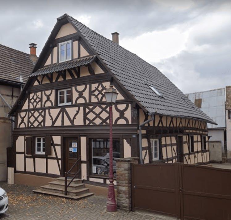 Photographie de la Pompes Funèbres Marbrerie Speyser-Schaal de Geispolsheim