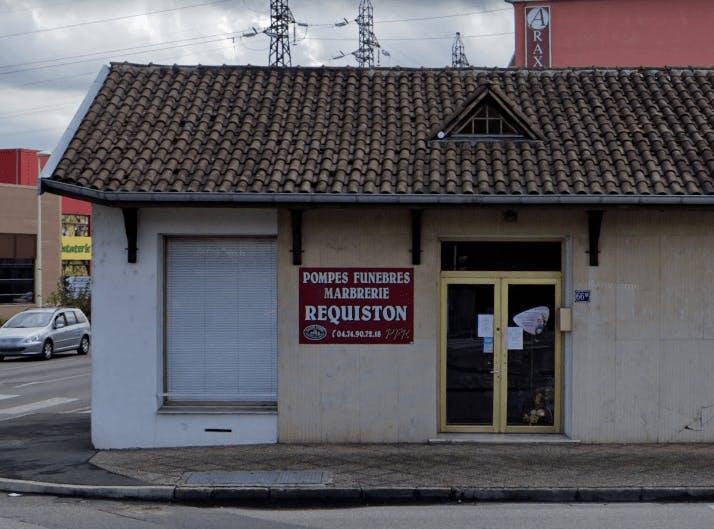 Photographie de la Pompes Funèbres Réquisition à Tignieu-Jameyzieu